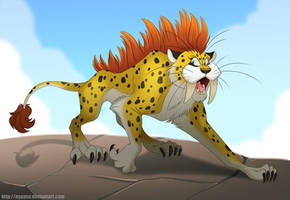 Sabrecat (Commission)