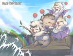 Chocobro Mogs Go Fishing - Final Fantasy XV