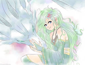 Rydia and the Mist Dragon