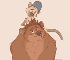 Teddy Bear and Kitty Cat (RalFeli)