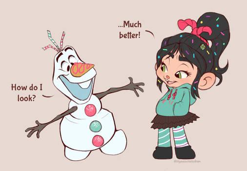 Olaf's New Look