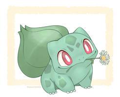 Bulbasaur has a Flower for You!