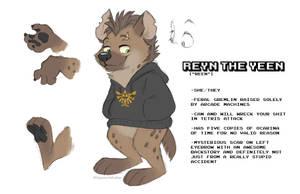 Reyn the Yeen (My Fursona!)