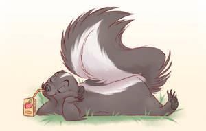 Skunk with a Juicebox