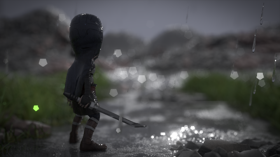 the gray land composed hard DOF by taemart