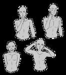F2U REFSHEET - expressive waist ups 01