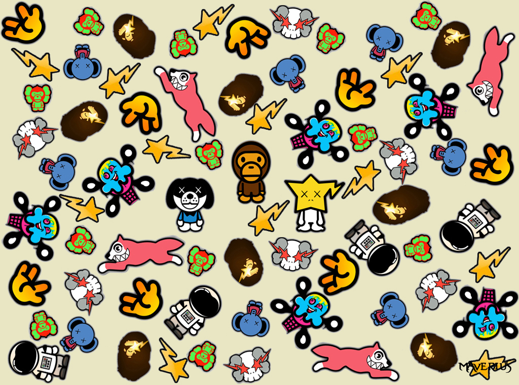Bathing Ape Wallpaper By Maverius On Deviantart