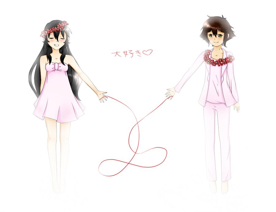 Red String Png [utauxutau] red string of fate