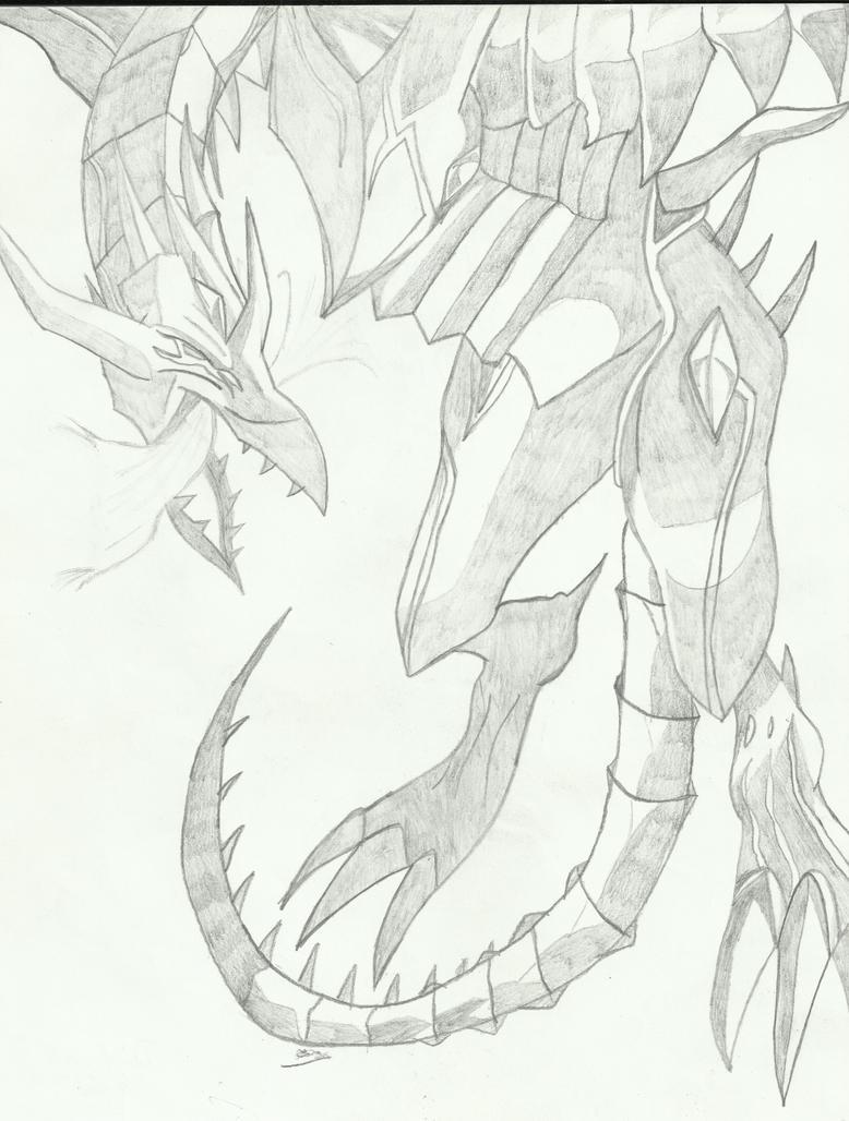 red eyes darkness dragon by zerodyme on deviantart