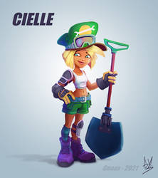 CIELLE (Cancelled Rayman 4 character)