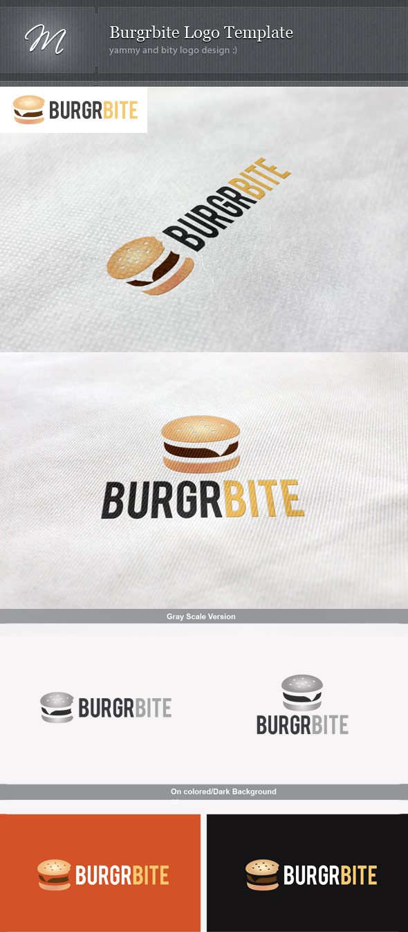 Burgrbite Logo Template by mindwilys
