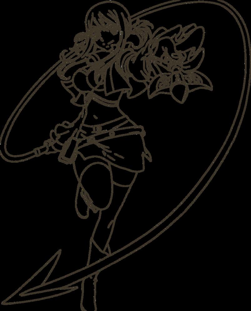 Lucy Heartfilia Lineart : Lucy heartfilia lineart by vampiress on deviantart
