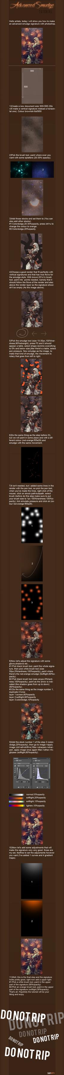 Advanced Smudge Tutorial by SaifArts