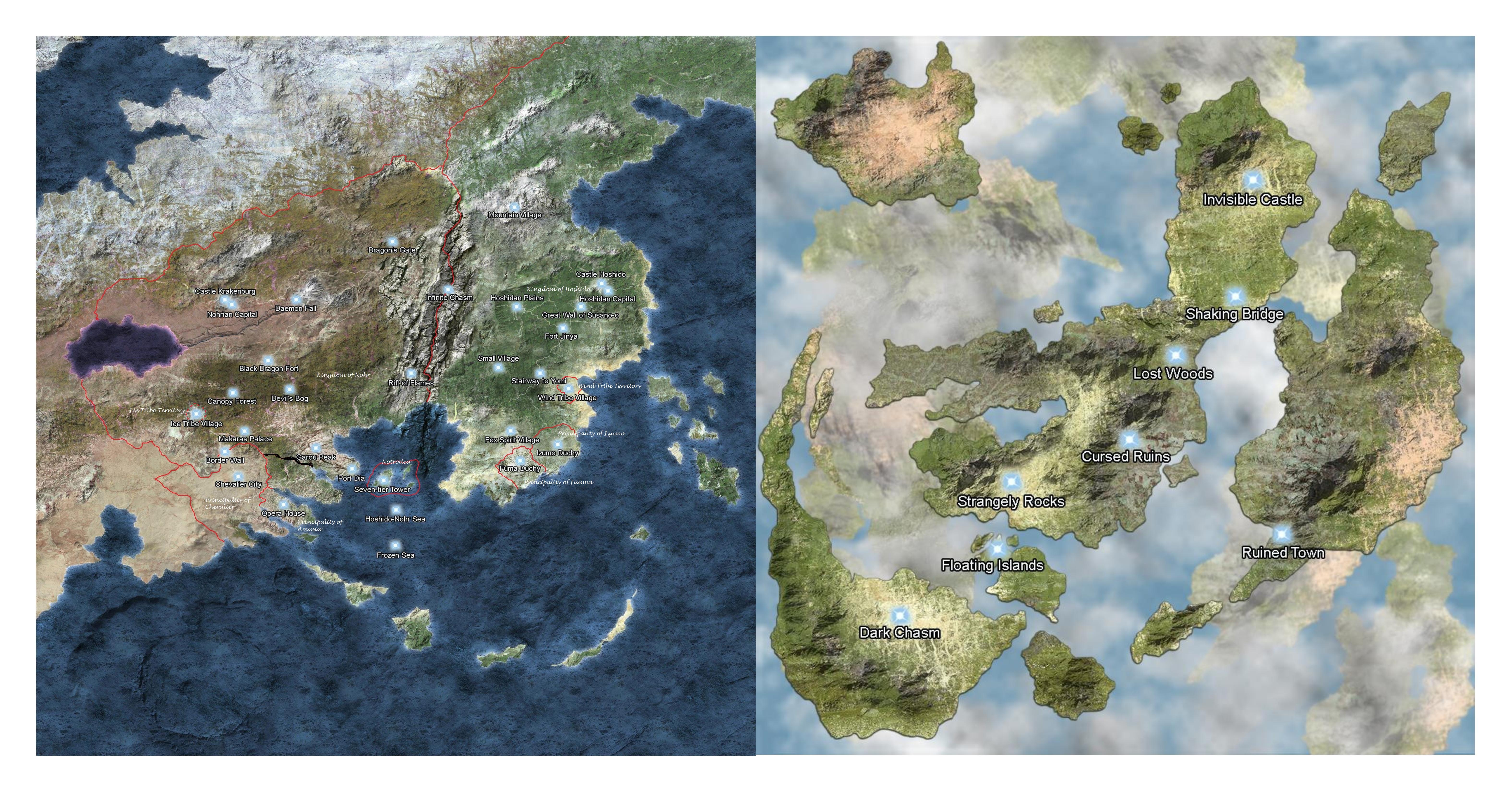 Fire Emblem Fates World Map Edit 4 By Swordswoman15 On Deviantart