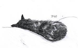 30 Day Art Challenge: Day 2 - Fav Animal by Zebbedy42