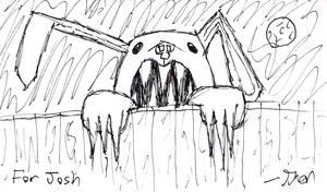 Monster Bunny by Zebbedy42