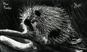 Porcupine by Zebbedy42