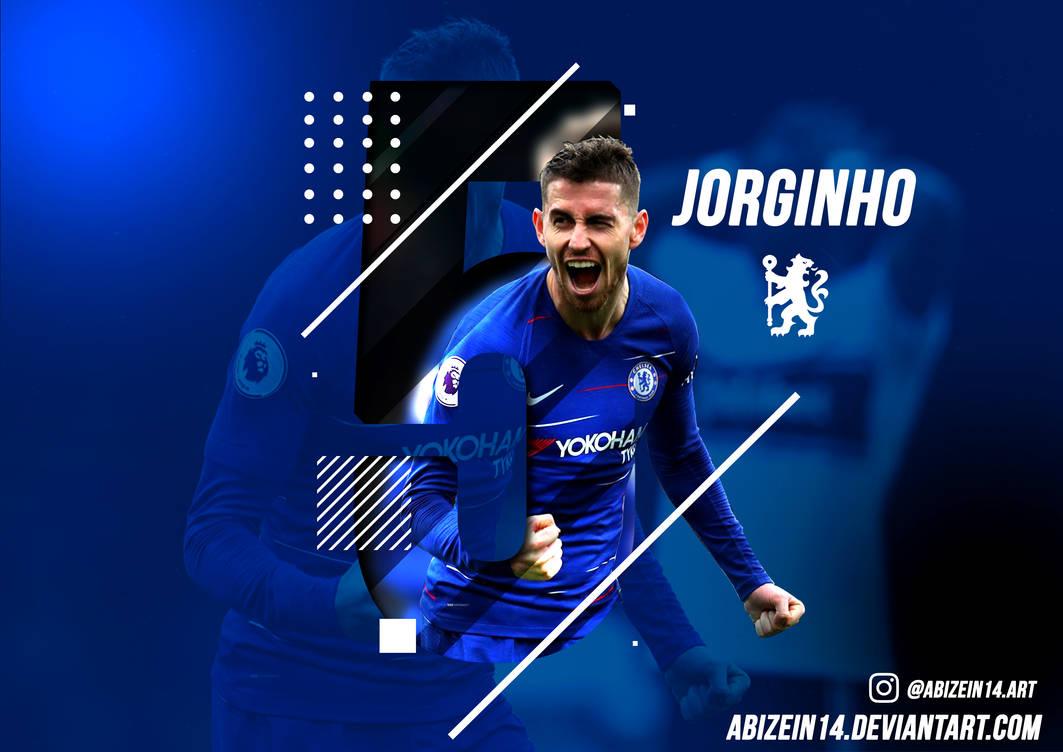 Jorginho Chelsea Poster Wallpaper 2019 By Abizein14 On