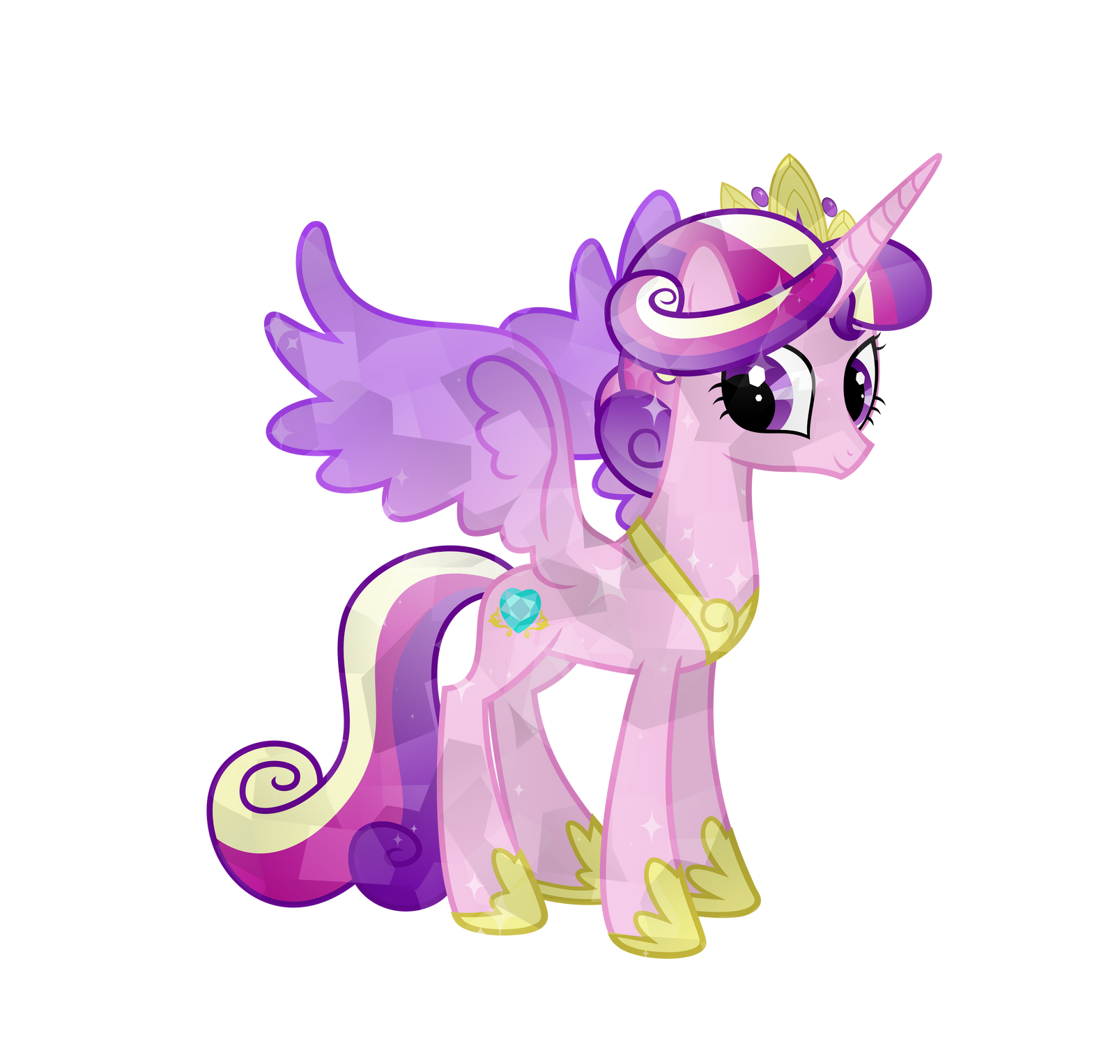 My Little Pony Friendship Is Magic Princess Cadence Filly