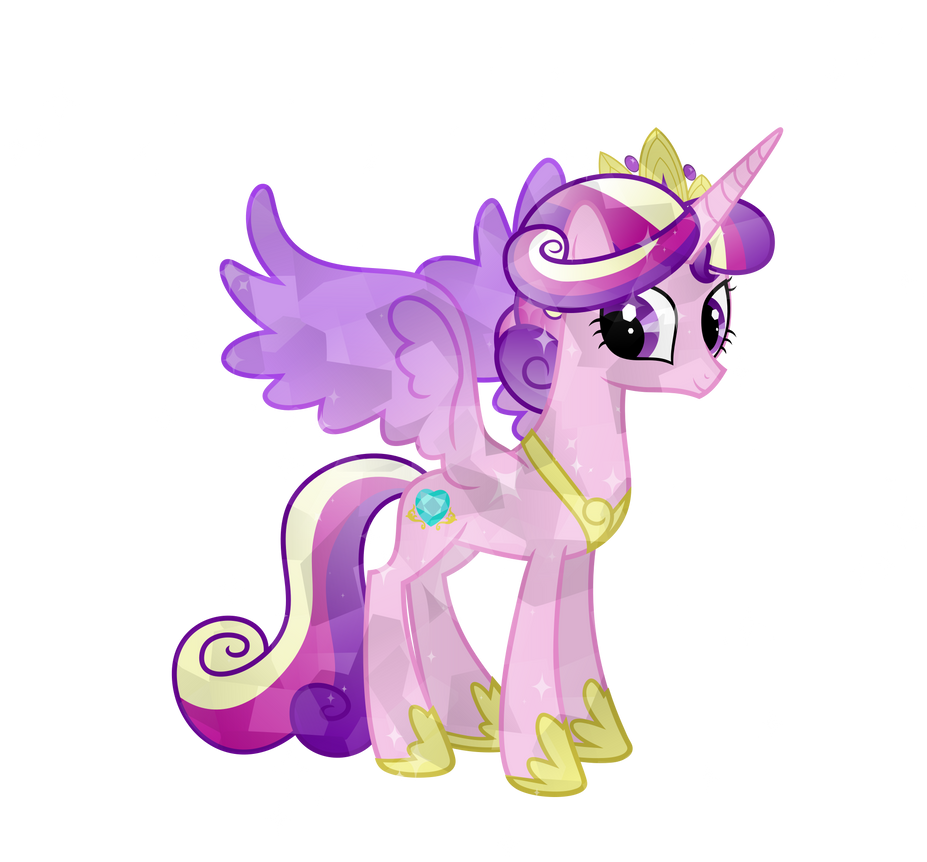Crystal princess cadence by bubblestormx on deviantart - Princesse poney ...