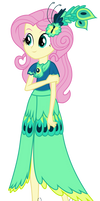 Fluttershy - Gala Dress by BubblestormX