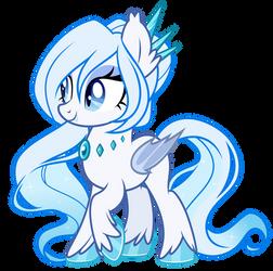 [OC] Ice Bat Pony