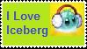 I love iceberg stamp by Lilacool