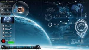 Space control desktop by cruisnick