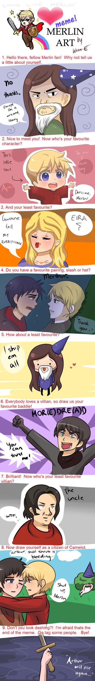 Merlin Meme (SPOILERS) by Ween-E