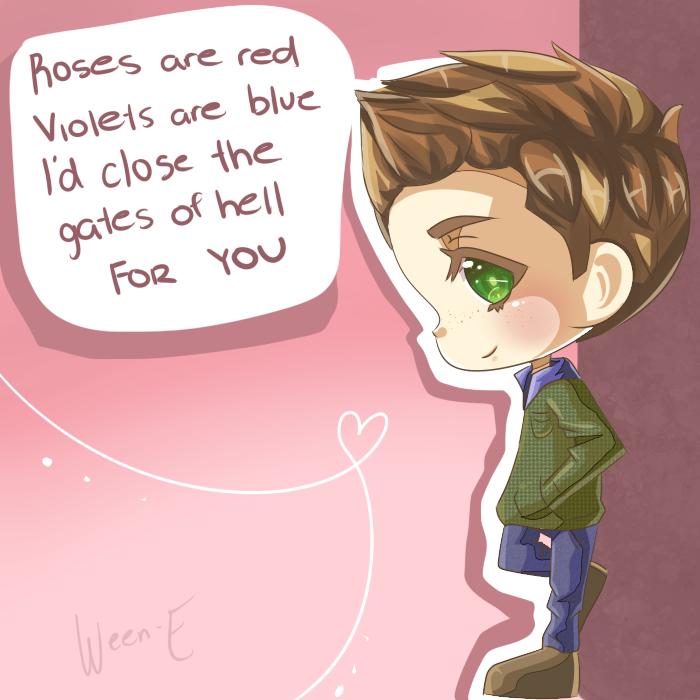 SPN Valentine by Ween-E