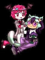 Promio and Hyacinth by hanasakiyunarin