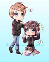 (CM) Dakota and Cameryn by hanasakiyunarin