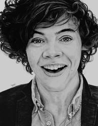 Harry Styles - Graphite and Charcoal