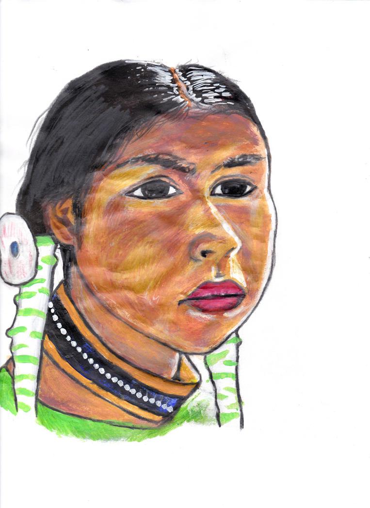 Native Girl by jimmyart27