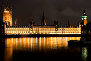 Houses of Parliament by vortxbr