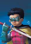 Robin - Damian Wayne Sketch