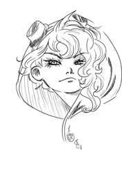 Selina Kyle - sketch