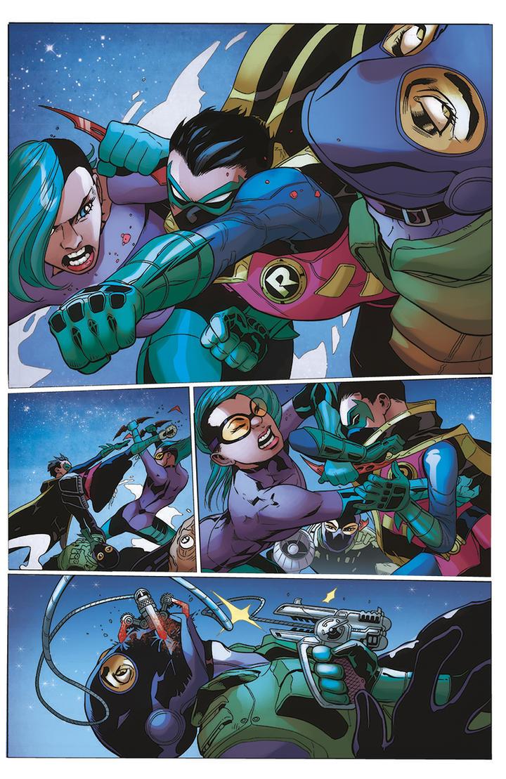 Robin son of Batman by VallyFran