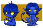Nightcrawler Chibis