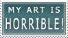 Horrible Stamp