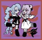 xxxholic: Moro and Maru