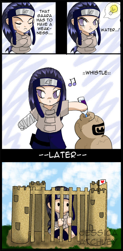 Gaara's Weakness? by icyookami on DeviantArt Gaara And Neji