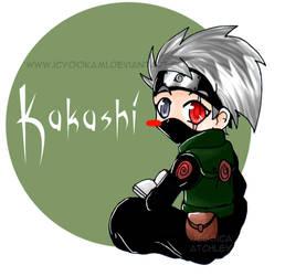 Chibi Kakashi n.n by icyookami