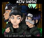 Niju Shotai: De-Akatsuki Team