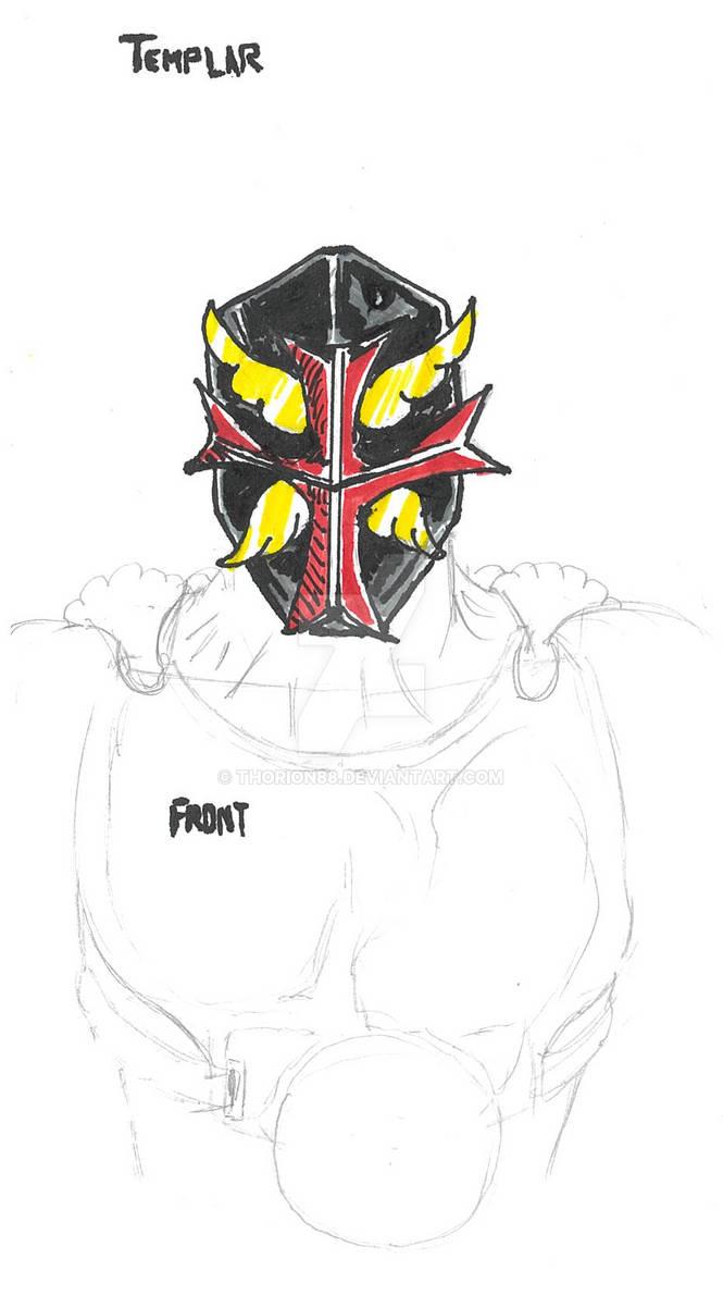 Silent Templar Sketch