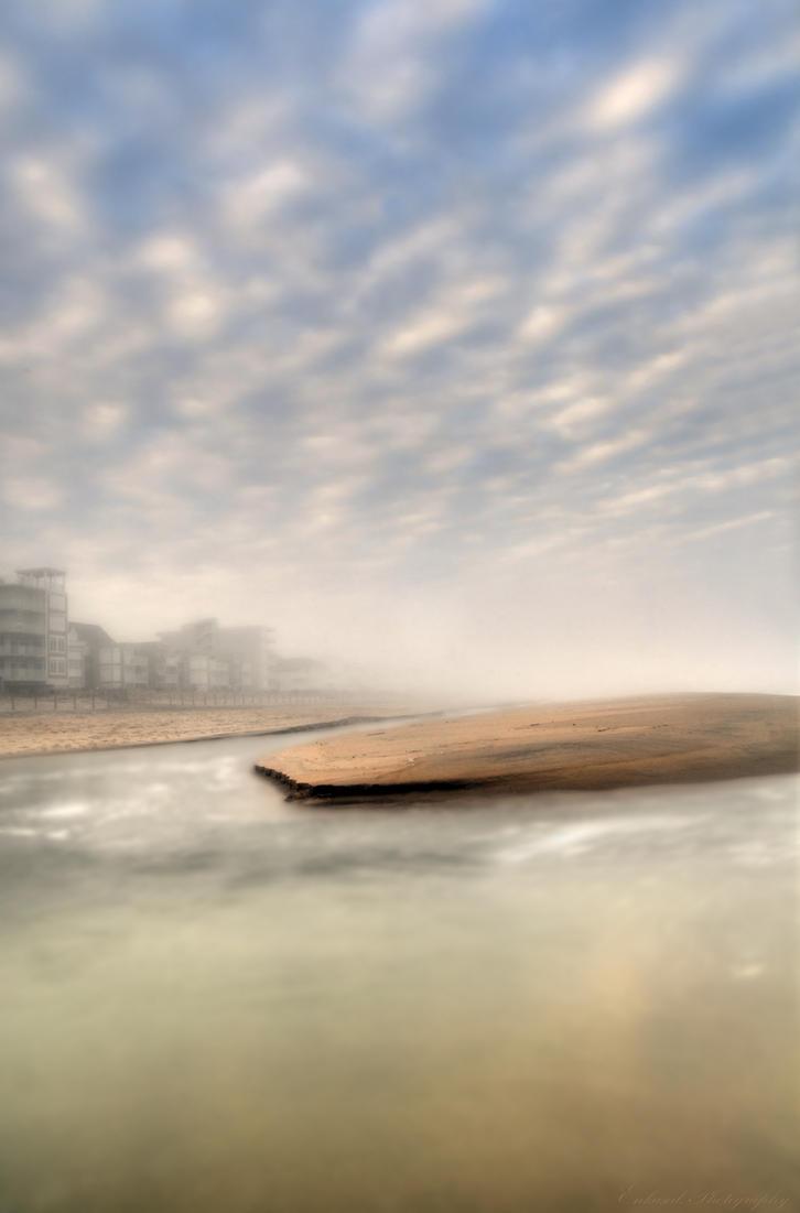 Tidepool Under Fog by Enkased