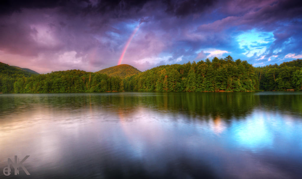 Blue Ridge Rainbow by Enkased