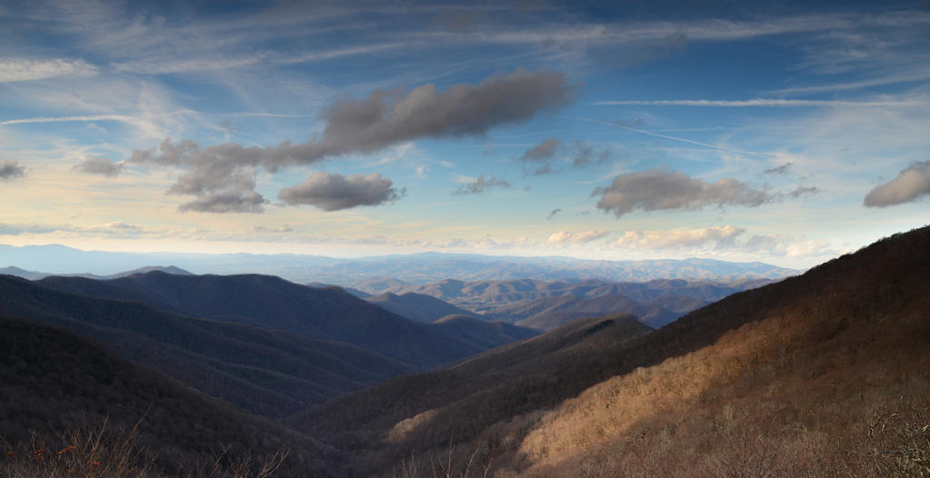 Asheville Pano by Enkphoto