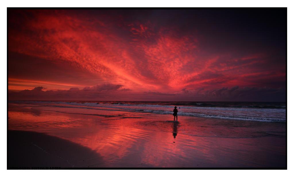 Under Red Skies by Enkphoto