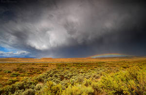 Storm on the Open Road by Enkphoto